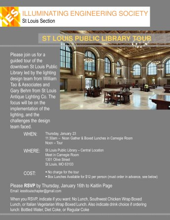 St Louis Public Library Tour